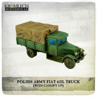 POLISH ARMY FIAT 621L TRUCK