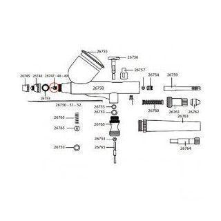 Obturador 0,5mm D-102 (26020-26021)