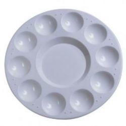 Paleta Circular de Plástico 17cm