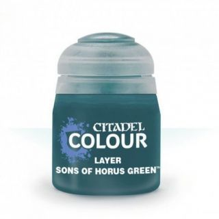 LAYER:SONS OF HORUS GREEN (12ML)