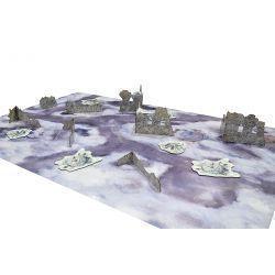 Essential Terrain Set. VALHALLA RUINS escenografia basica de 28mm para tu mesa de juego