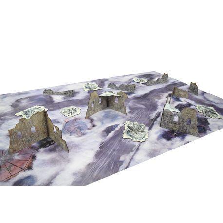 Essential Terrain Set. VALHALLA RUINS + MAT