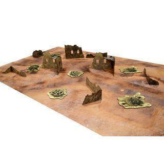 Essential Terrain Set. TALLARM RUINS + MAT