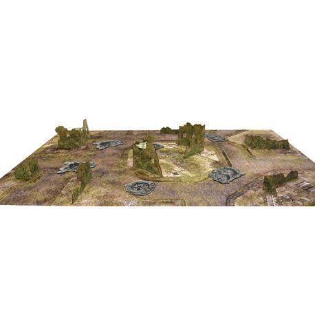 Essential Terrain Set. CATAXAN RUINS + MAT