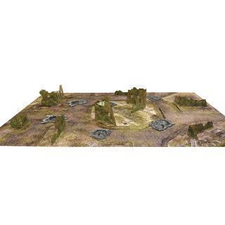 Essential Terrain Set. CATAXAN RUINS + MAT