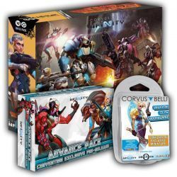 Pack Gencon O: Wildfire + Pack Convention + Valkyrie