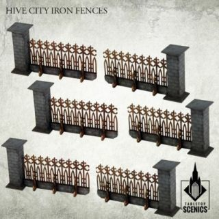 HIVE CITY IRON FENCES