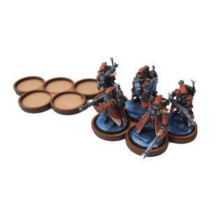 Apocalypse Movement Tray 25mm (5 holes) X2