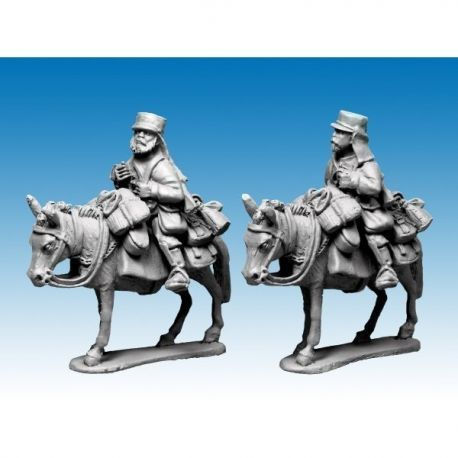 Mounted Legion Company in Tunic and Kepi