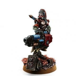 MECHANIC ADEPT ERADICATOR WITH PLASMA CANNON