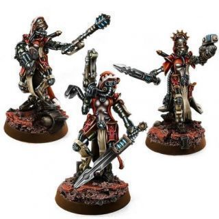 MECHANIC ADEPT FEMALE SAGITARIUS SERGEANTS