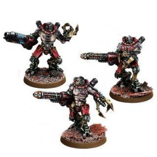 MECHANIC ADEPT KATATON BATTLE SERVITOR SQUAD