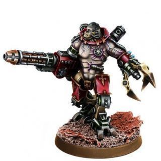 MECHANIC ADEPT KATATON BATTLE SERVITOR WITH GRAVI-CANNON