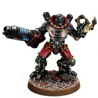 MECHANIC ADEPT KATATON BATTLE SERVITOR WITH PLASMA CANNON