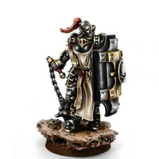HERESY HUNTER DOMINATOR WITH FLAIL AND SHIELD