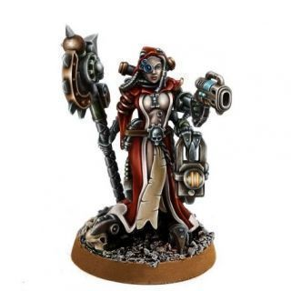 HERESY HUNTER FEMALE INQUISITOR MECHANICUM