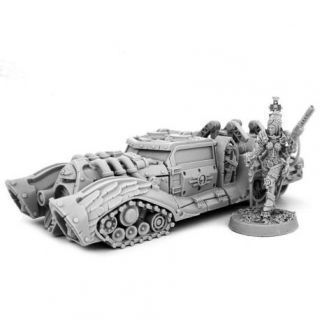 HERESY HUNTER FEMALE INQUISITOR WITH STRIKE CAR