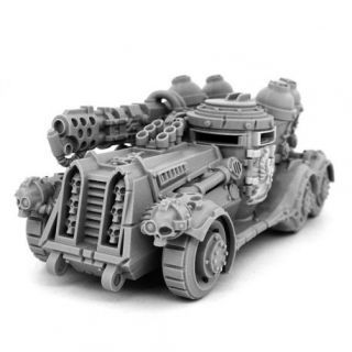HERESY HUNTER HEAVY FLAMER CAR