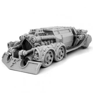 HERESY HUNTER RAZOR BLADE CAR WITH ASSAULT MODULE