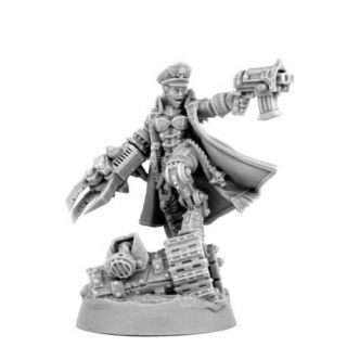 IMPERIAL SOLDIER FEMALE BRAVE COMMISSAR