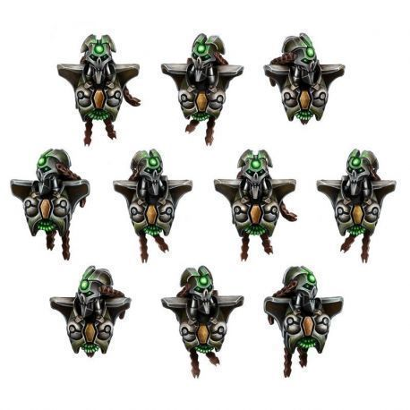 NECROCYBORG FEMALE WARRIORS CONVERSION SET (10U)
