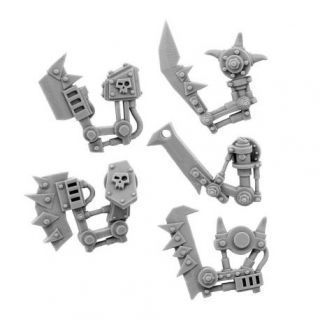 ORK CYBORG CONVERSION BITS BIONIC CHOPPA ARM (5U) (LEFT)