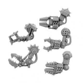 ORK CYBORG CONVERSION BITS BIONIC FIST ARM (5U) (LEFT)