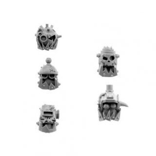 ORK CYBORG CONVERSION BITS BIONIC HEADS H-803 (5U)