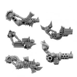 ORK CYBORG CONVERSION BITS BIONIC SLUGGA ARM K/402 (5U) (LEFT)