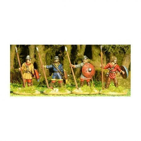 Unarmoured Spearmen Standing
