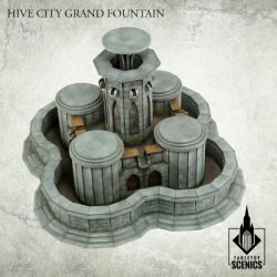 HIVE CITY GRAND FOUNTAIN