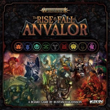 WARHAMMER: AGE OF SIGMAR – THE RISE AND FALL OF ANVALOR
