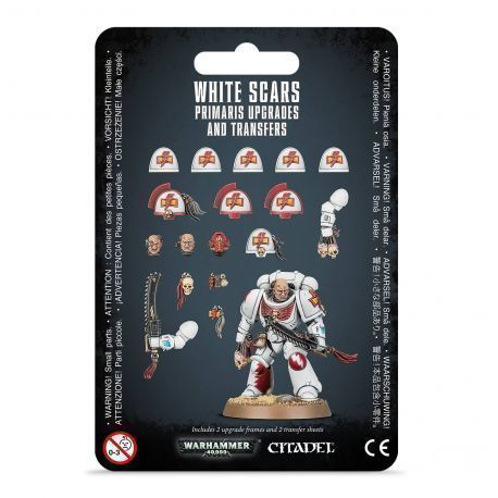 WHITE SCAR PRIMARIS UPGRADES AND TRANSFERS