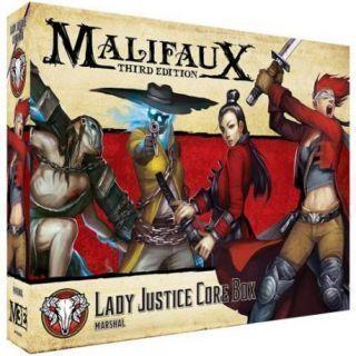 M3E LADY JUSTICE CORE BOX