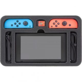 FOAM TRAY FOR NINTENDO SWITCH - 6 COMPARTMENTS (UNASSEMBLED)