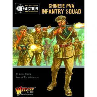 Korean War: Chinese PVA Infantry Squad