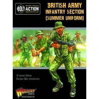 Korean War British Infantry Section (summer)
