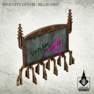 HIVE CITY GOTHIC BILLBOARDS
