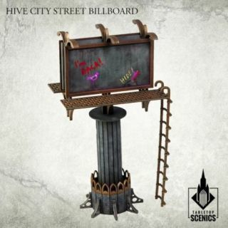HIVE CITY STREET BILLBOARD