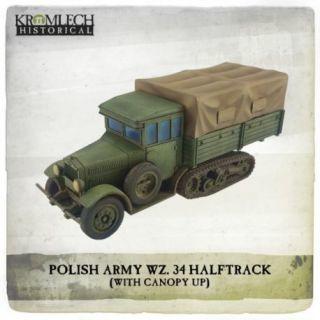 POLISH ARMY WZ.43 HALF TRACK