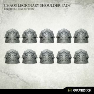 CHAOS LEGIONARY SHOULDER PADS EIGHTFOLD STAR (10)