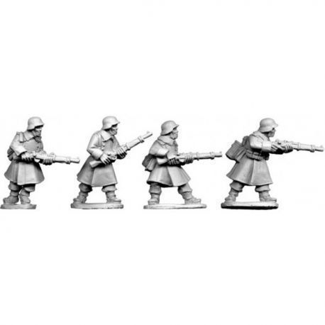 German Riflemen in Greatcoats II