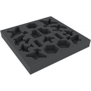 FOAM SET FOR AERONAUTICA IMPERIALIS: WINGS OF VENGEANCE BOARD GAME BOX
