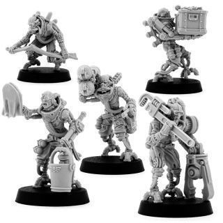 MECHANIC MAINTENANCE SERVITORS (5U)
