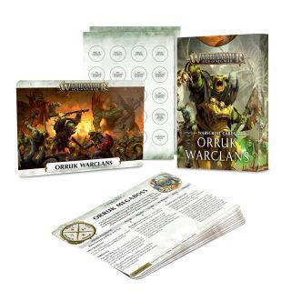 WARSCROLL CARDS: ORRUK WARCLANS (ENGLISH)