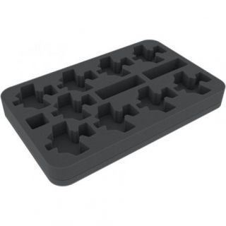 FOAM TRAY FOR AERONAUTICA IMPERIALIS: ORK AIR WAAAGH - DAKKAJETS