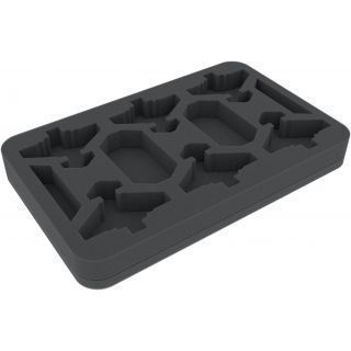 FELDHERR FOAM TRAY FOR AERONAUTICA IMPERIALIS: IMPERIAL NAVY - THUNDERBOLT FIGHTERS