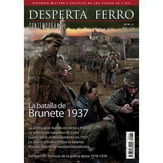 Desperta Ferro Contemporánea 34. La batalla de Brunete 1937