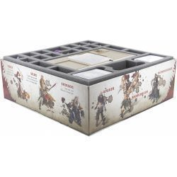 FOAM TRAY SET FOR ZOMBICIDE BLACK PLAGUE