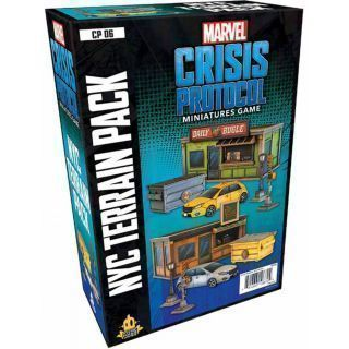 Marvel: Crisis Protocol - NYC Terrain Pack (Inglés)